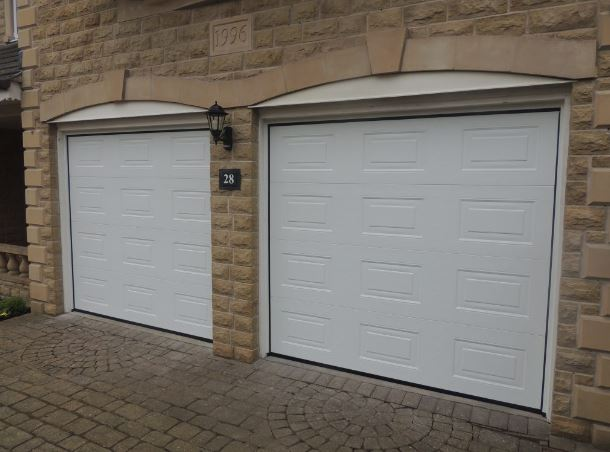 Alutech Georgian Insulated Sectional Garage Door