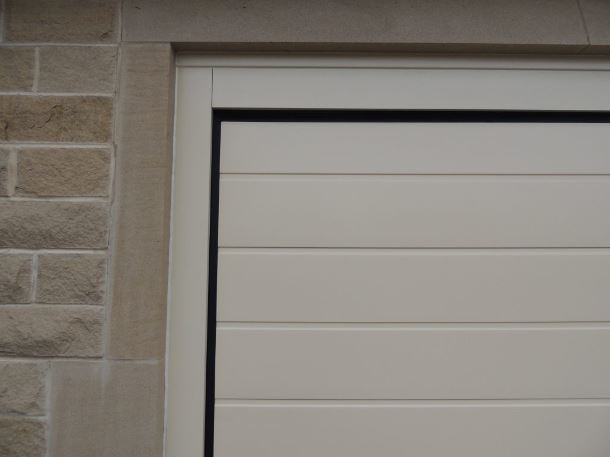 Alutech Mid Ribbed Insulated Sectional Garage Door