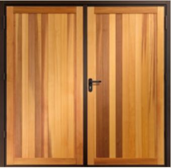 Garador Timber Side Hinged Garage Doors